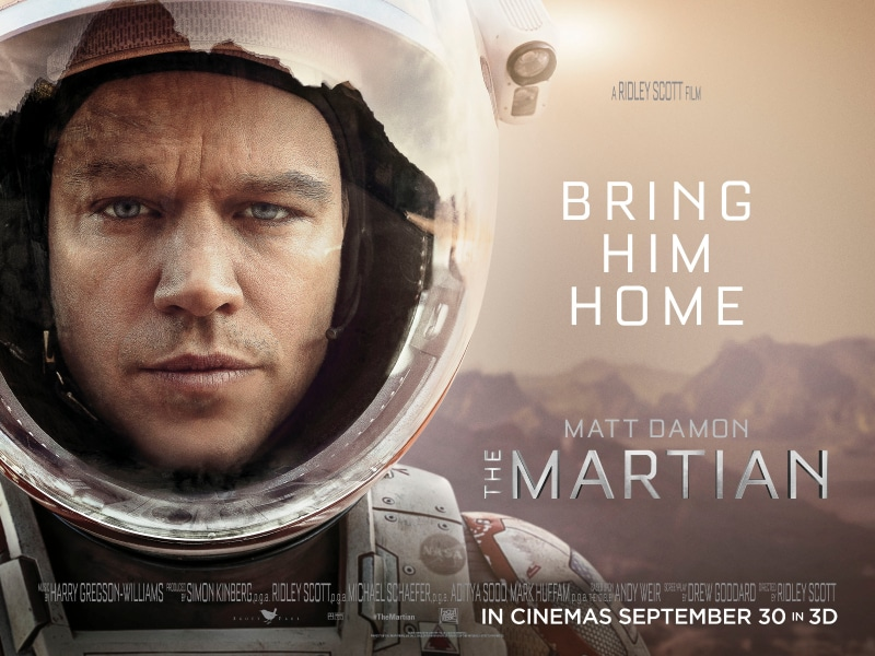 <i></noscript>The Martian</i> Beat Sheet