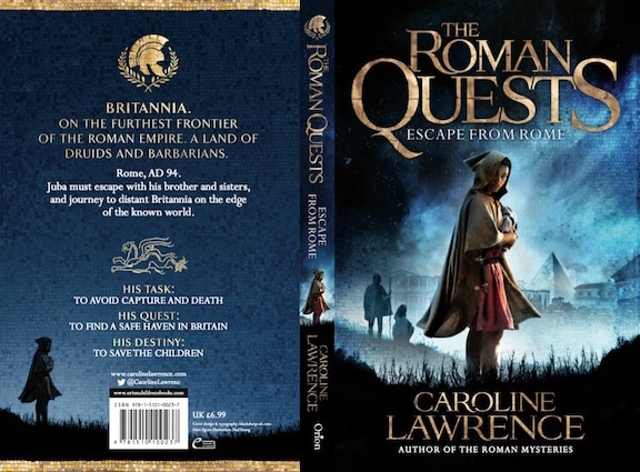 A New Book Series from Caroline Lawrence