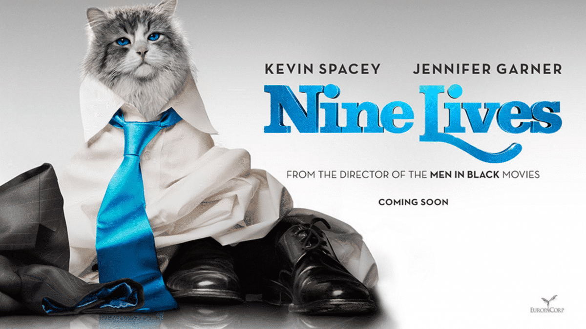 THE CAT SAVED ME: How Nine Lives the Movie Saved My Life