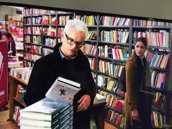 John Slattery and Amanda Peet in The Romanoff