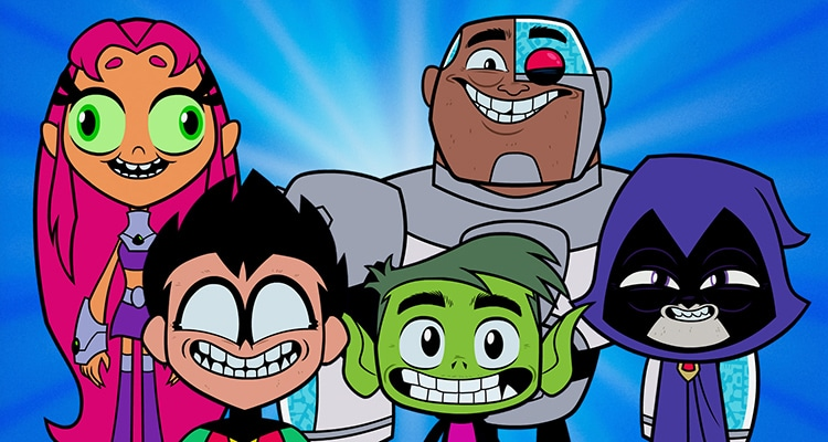 TEEN TITANS GO! Salutes Save the Cat!