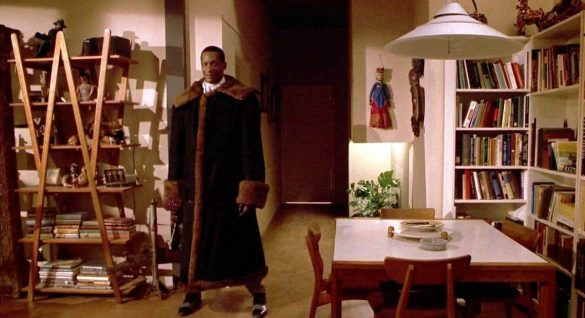 Candyman shows up at Helen's apartment to bring his own brand of treats.