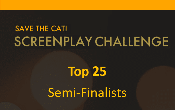 Save the Cat!® Screenplay Challenge Top 25 Announced