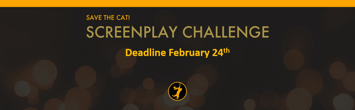 Next Screenplay Challenge Deadline Is February 24!
