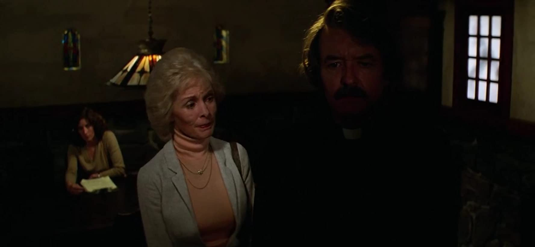 Janet Leigh and Hal Holbrook in John Carpenter's The Fog