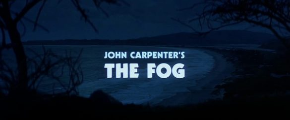 Title card for the film The Fog