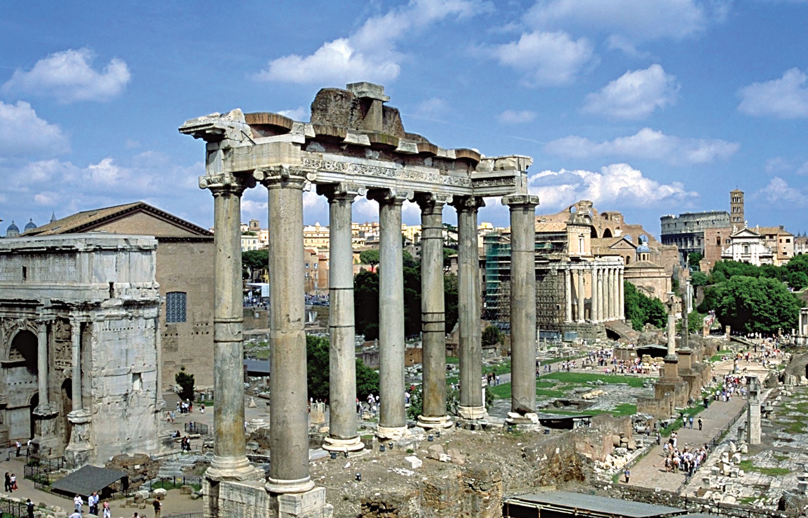 The Ancient Forum of Rome