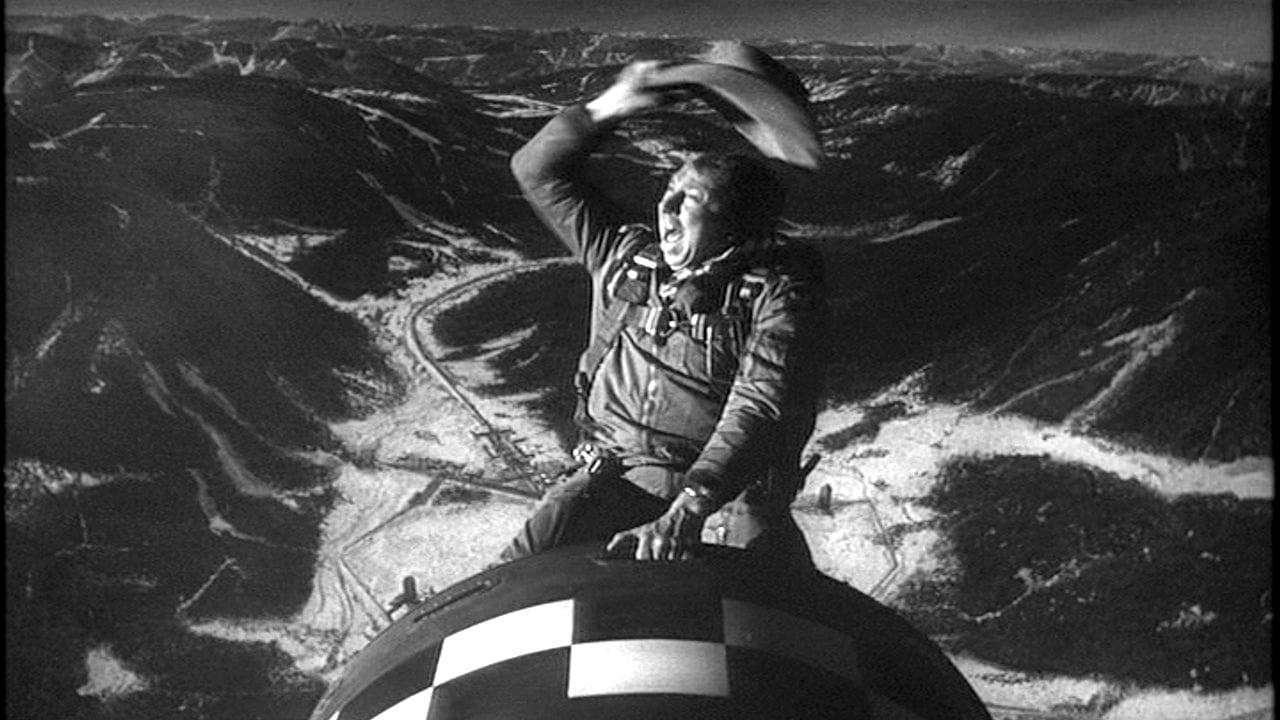 Slim Pickens in Stanley Kubrick's Dr. Strangelove
