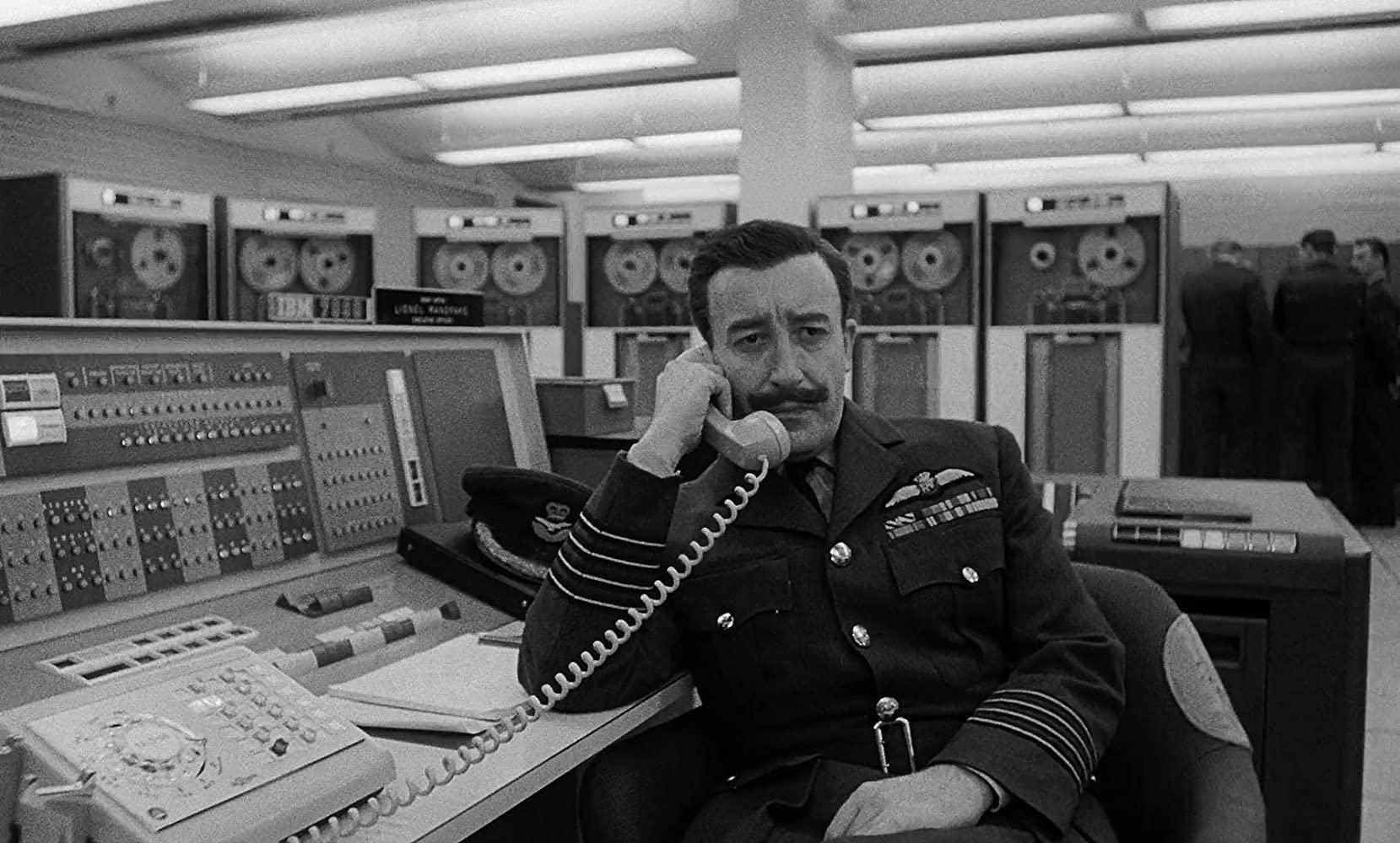 Peter Sellers in Stanley Kubrick's Dr. Strangelove