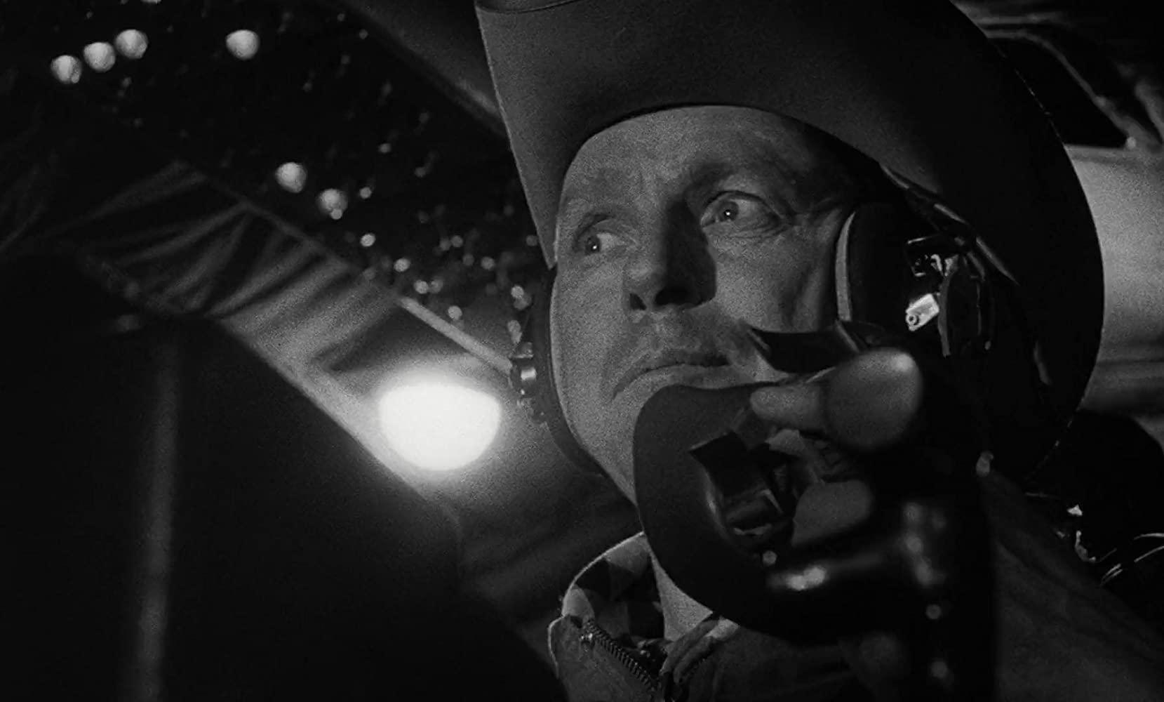 Slim Pickens in Stanley Kubrick'sd Dr. Strangelove