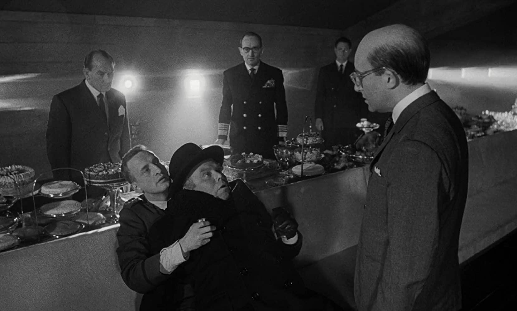 Peter SDellers in Stanley Kubrick's Dr. Strangelove