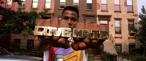 Bill Nunn as Radio Raheem in Spike Lee's Do the Right Thing