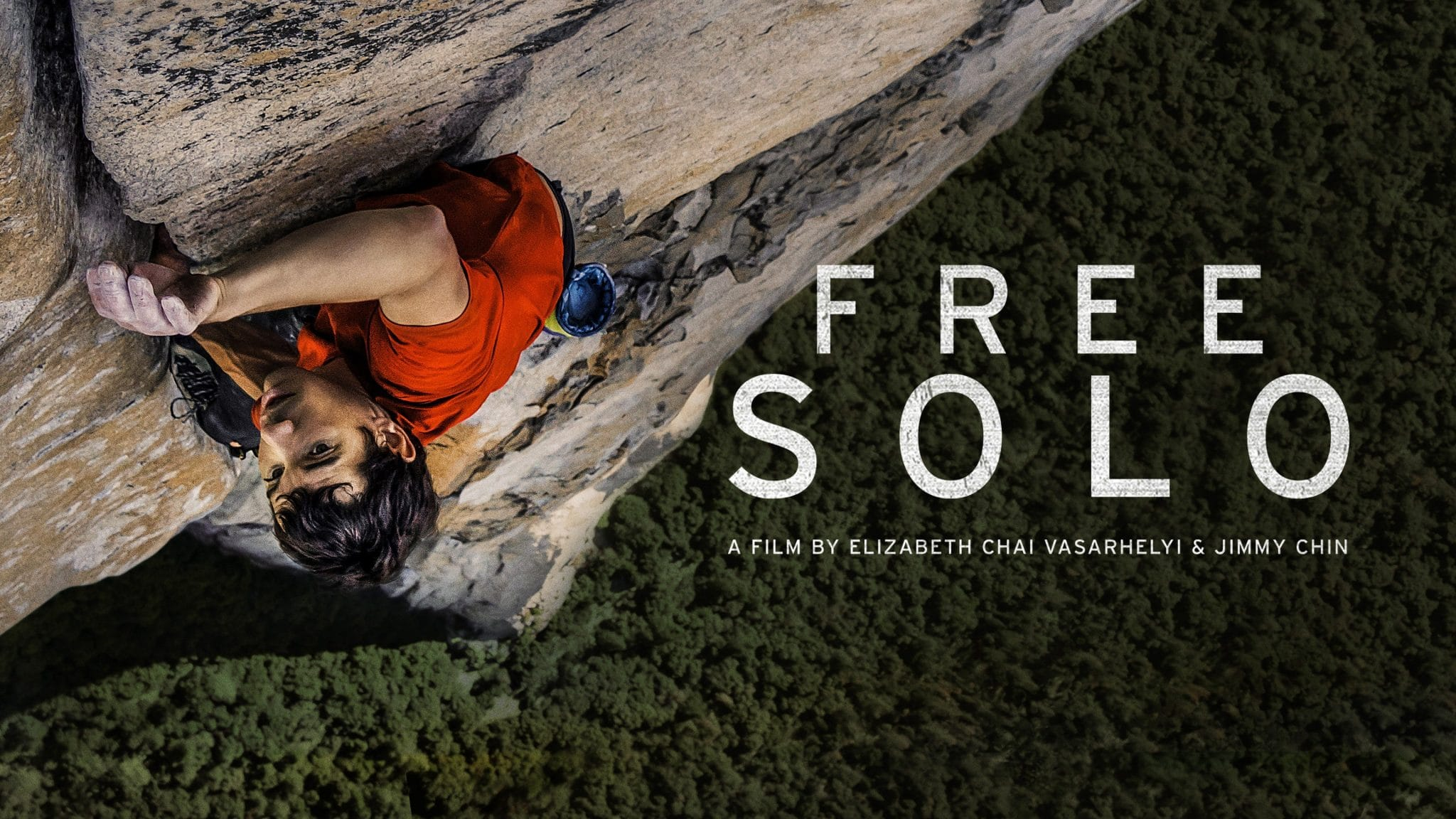 the poster for the documentary Free Solo