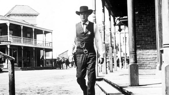 Academy Award winner for Best Actor, Gary Cooper in 'High Noon'