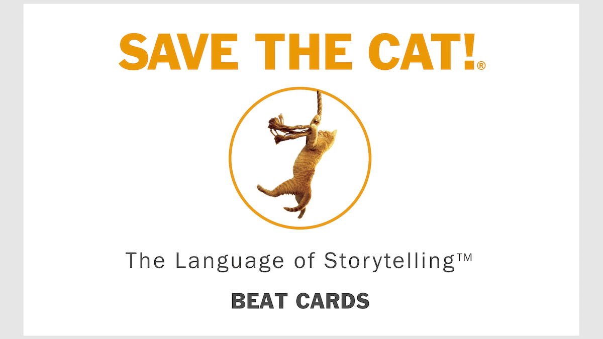 New Product Alert: <i>Save the Cat!®</i><br>Story Cards