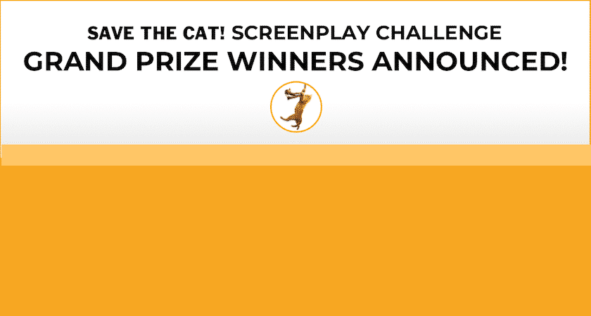<i>Save the Cat!</i> Screenplay Challenge Winners!