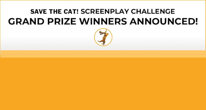 <i></noscript>Save the Cat!</i> Screenplay Challenge Winners!