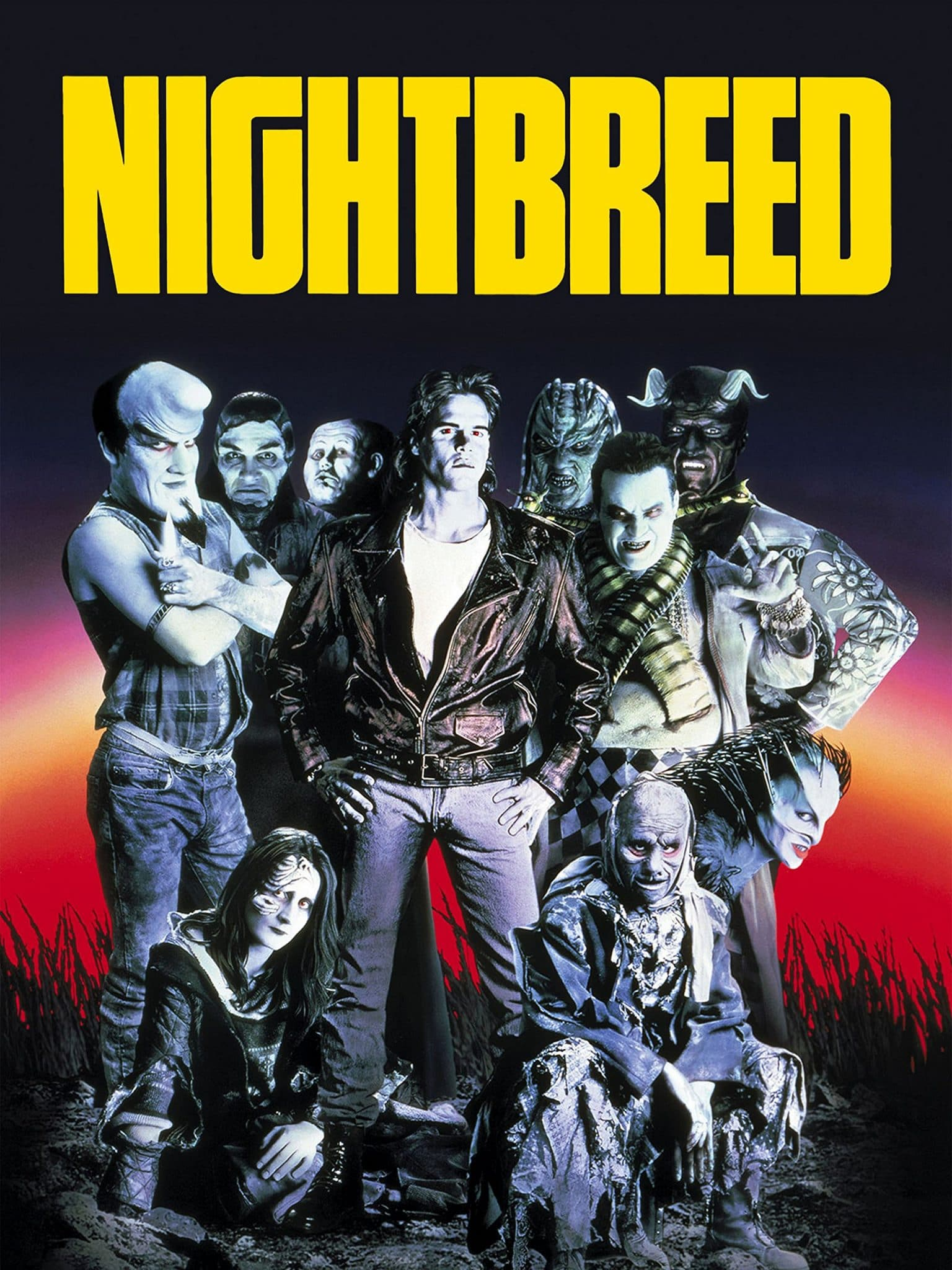 poster for the film 'Nightbreed'