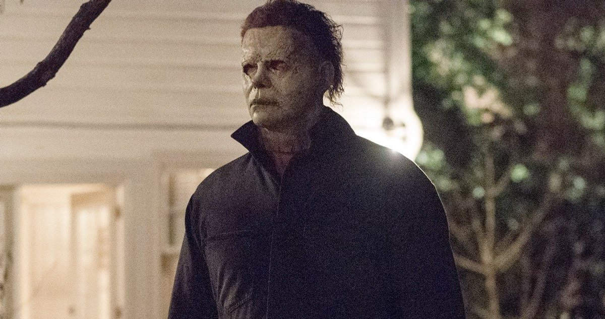 Actor James Jude Courtney as Micheal Myers in Halloween (2018)