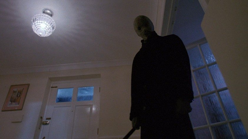 a scene wuith a slasher from the film 'Nightbreed'