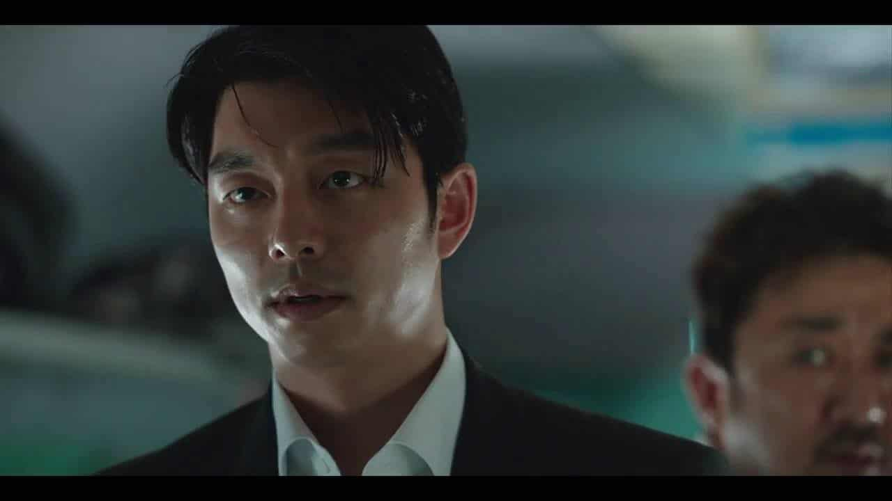 scene from the film 'Train to Busan'