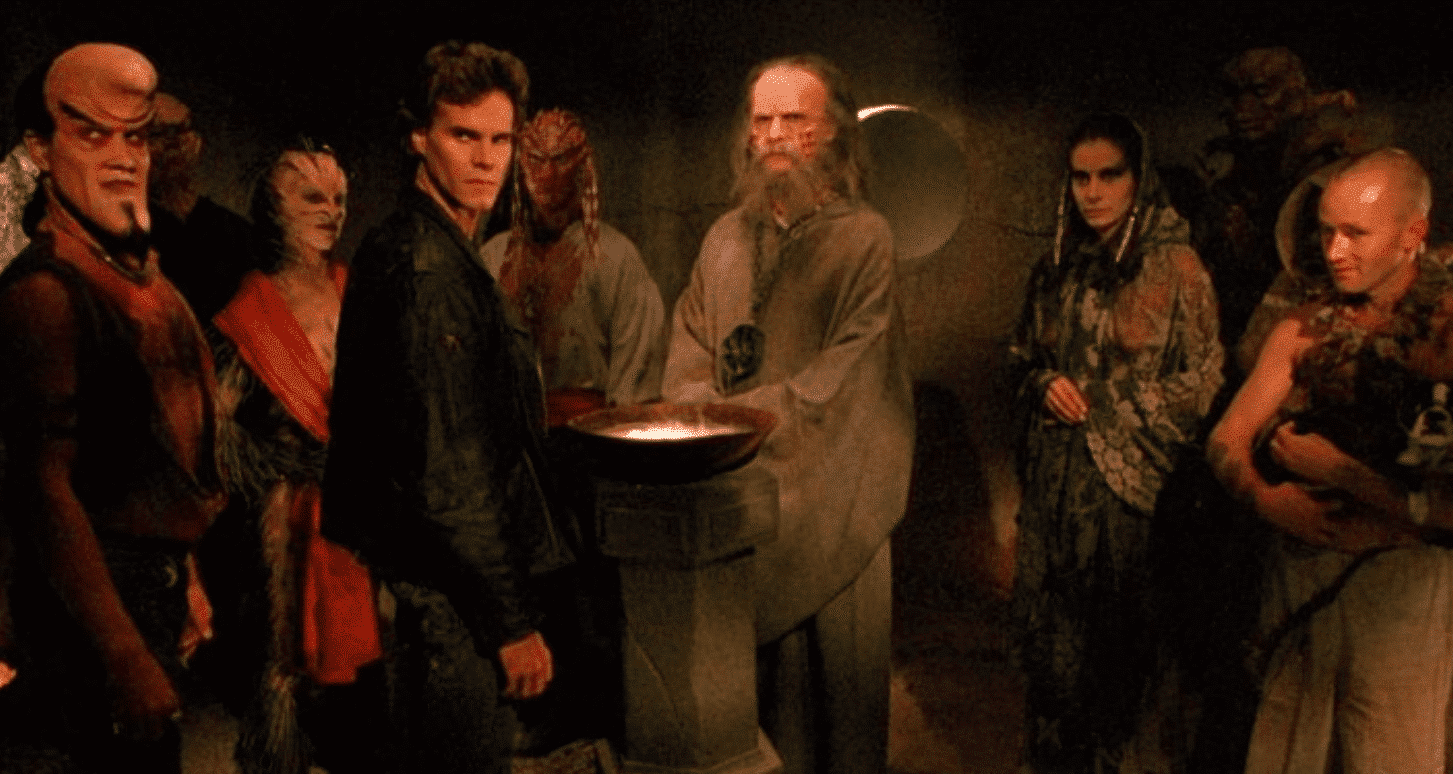 A scene from the film 'Nightbreed'