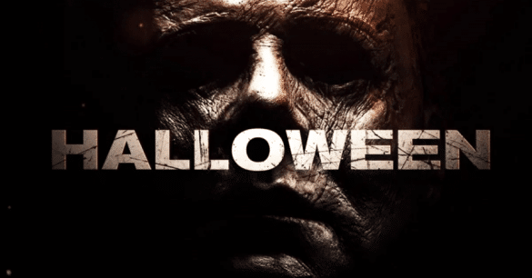 The Halloween movie poster from 2018