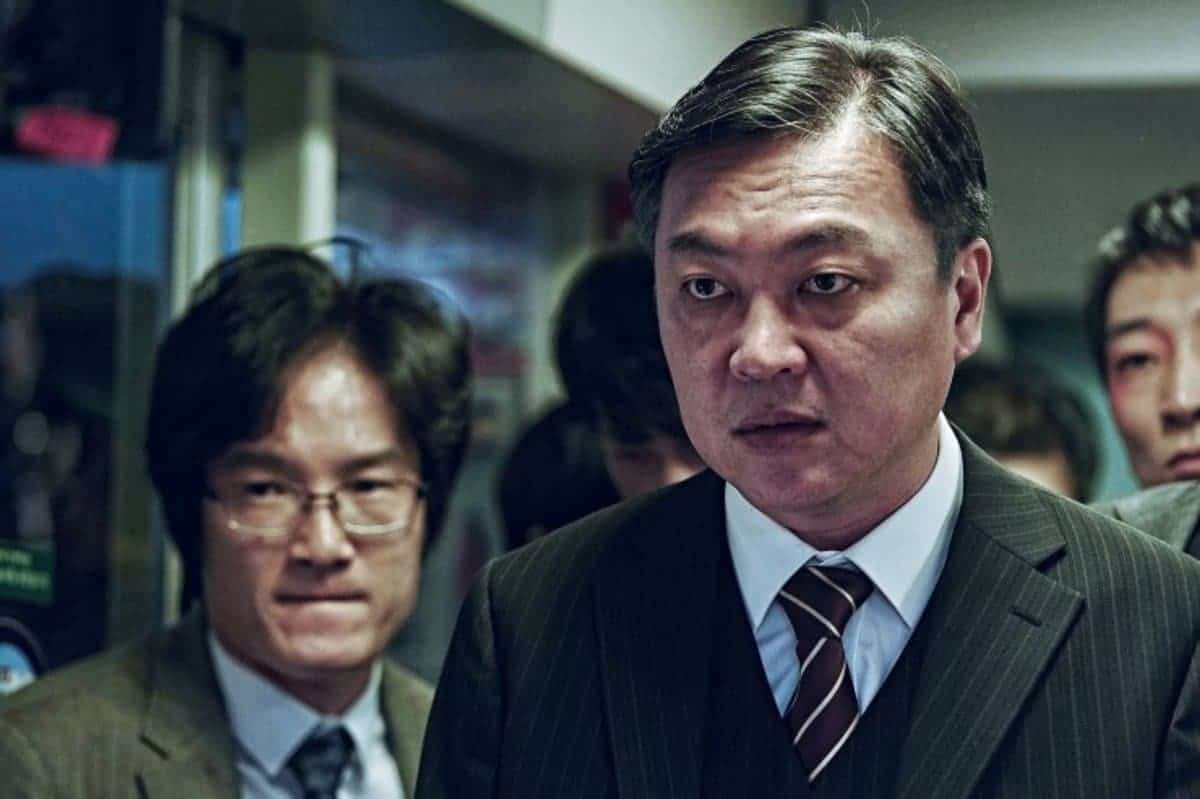 a scener from the film 'Train to Busan'