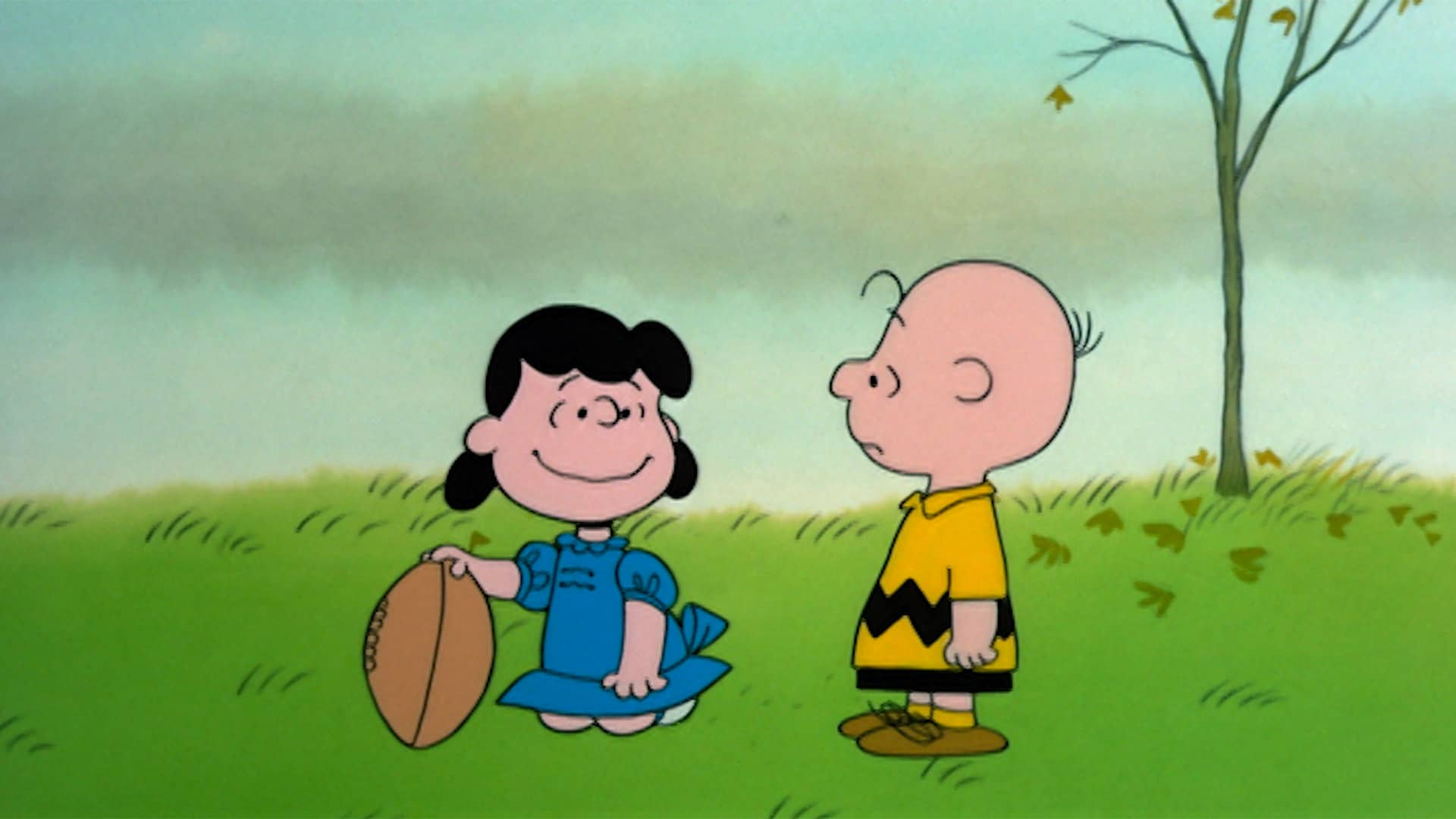 Charlie Brown and Lucy in A Charlie Brown Thanksgiving