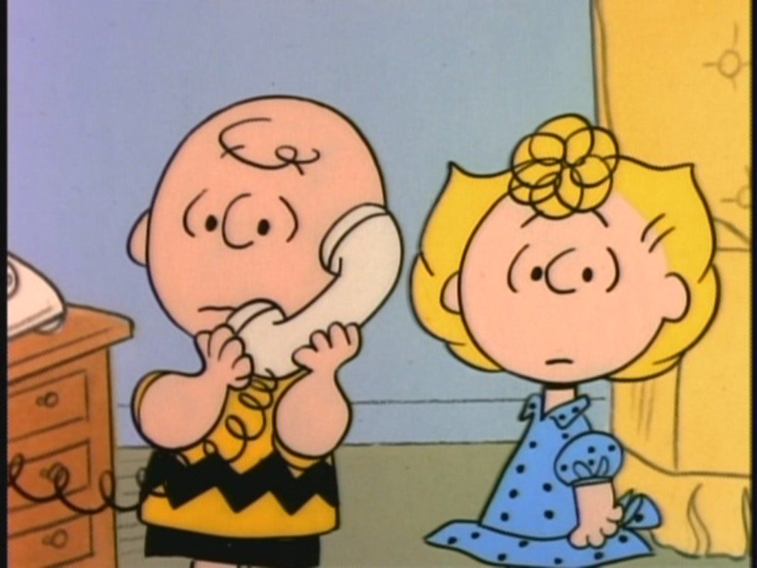 Charlie Brown and Peppermint Patty in A Charlie Brown Thanksgiving