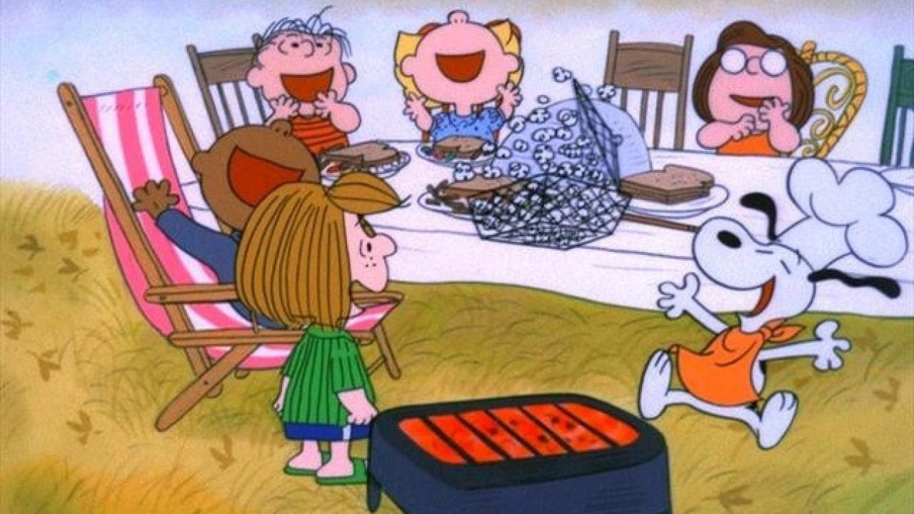 The characters from A Charlie Brown Thanksgiving