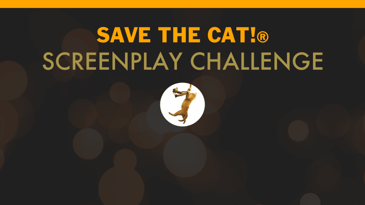 Announcing the 2021 Save the Cat! Screenplay Challenge
