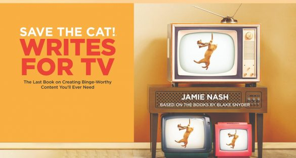 Save the Cat Writes for TV book announcement
