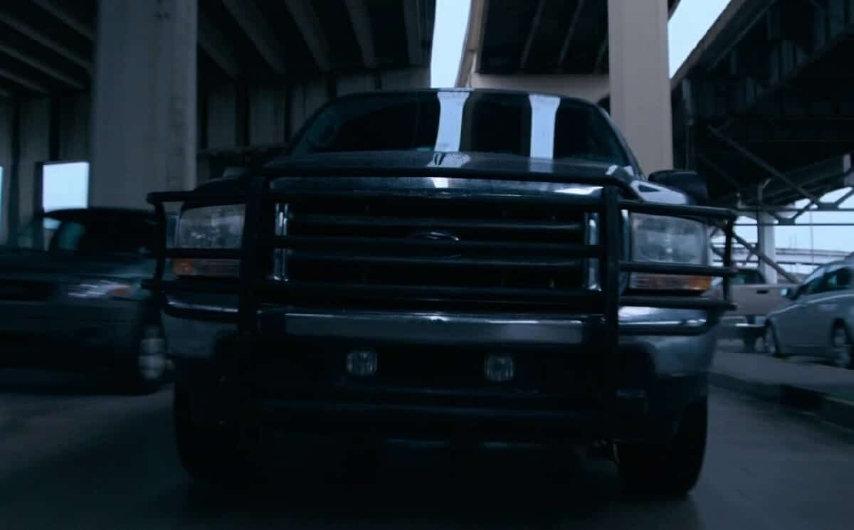 The truck from the movie Unhinged
