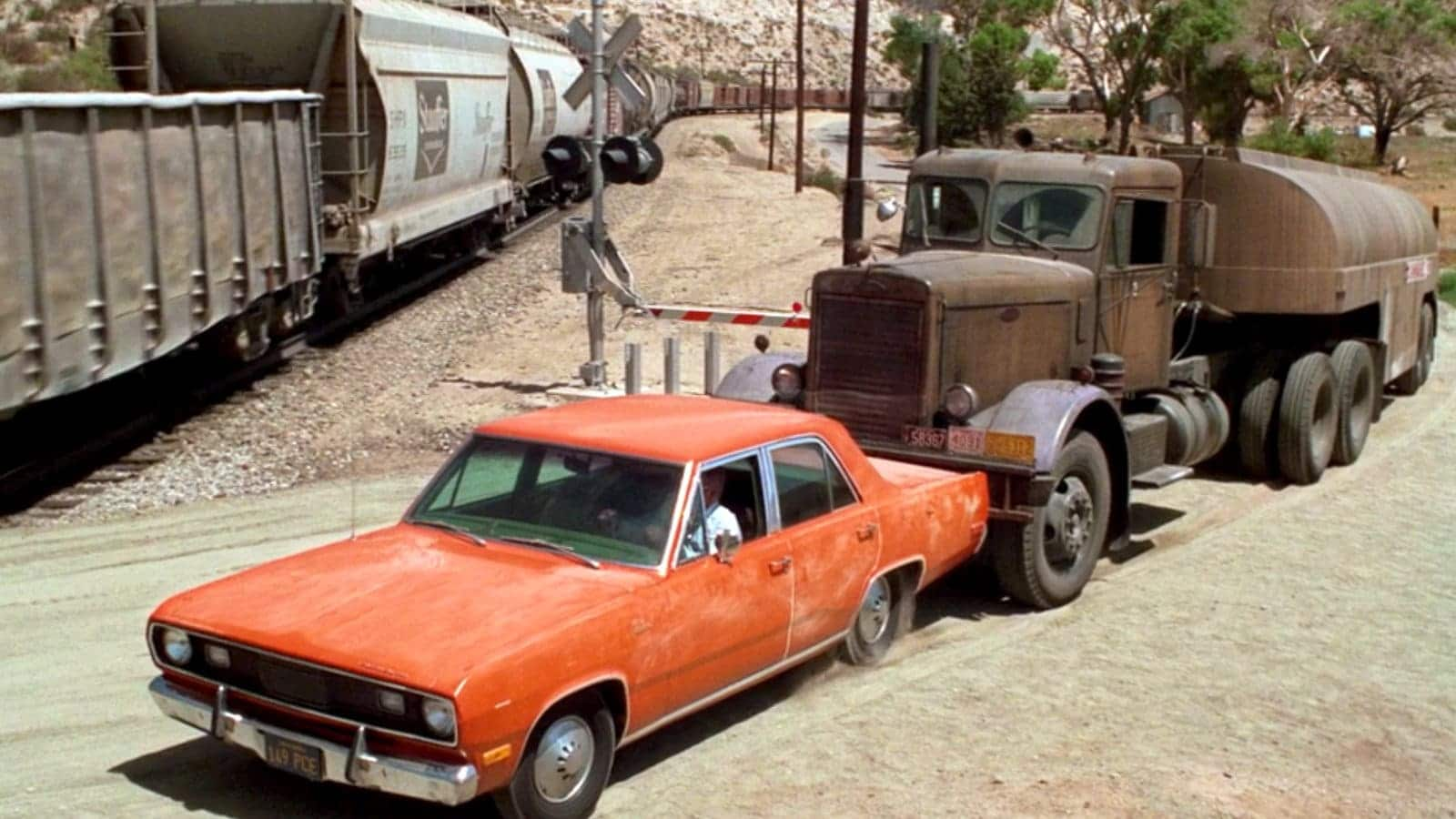 an image from Styeven Spielberg's film Duel