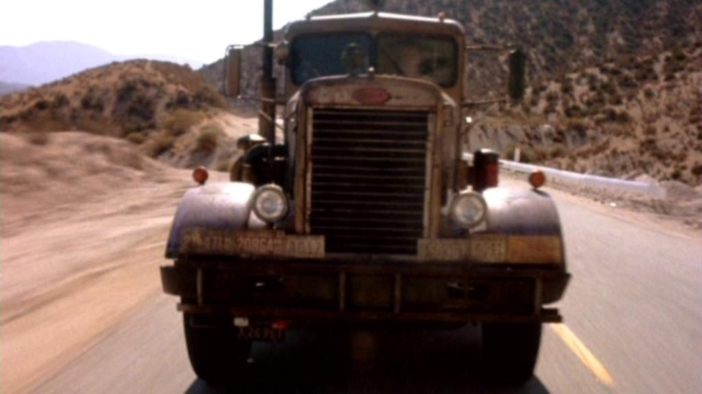 the truck from the film Duel
