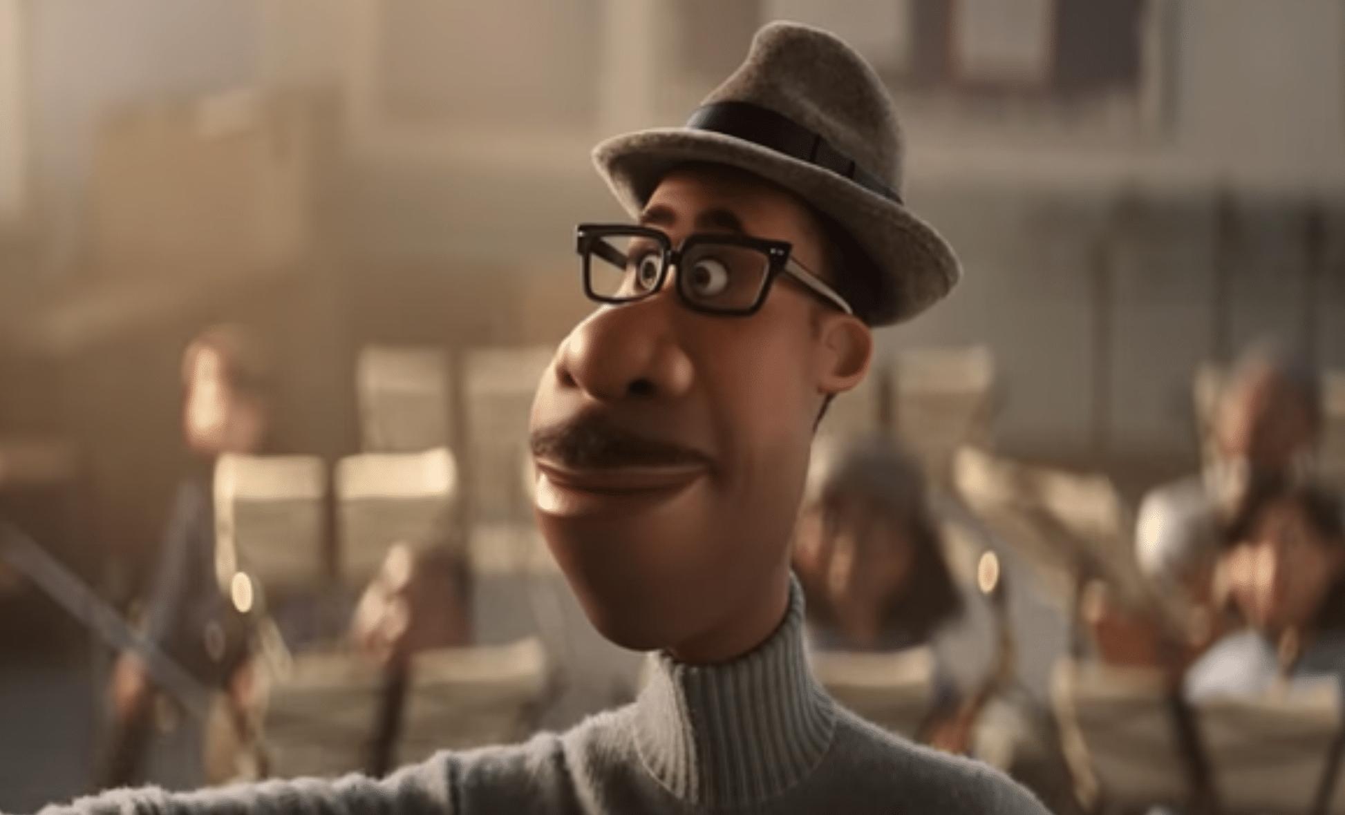 Joe Gardner in Pixar's Soul.