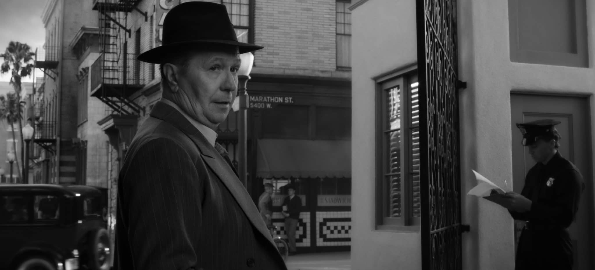Gasry Oldman in the film Mank