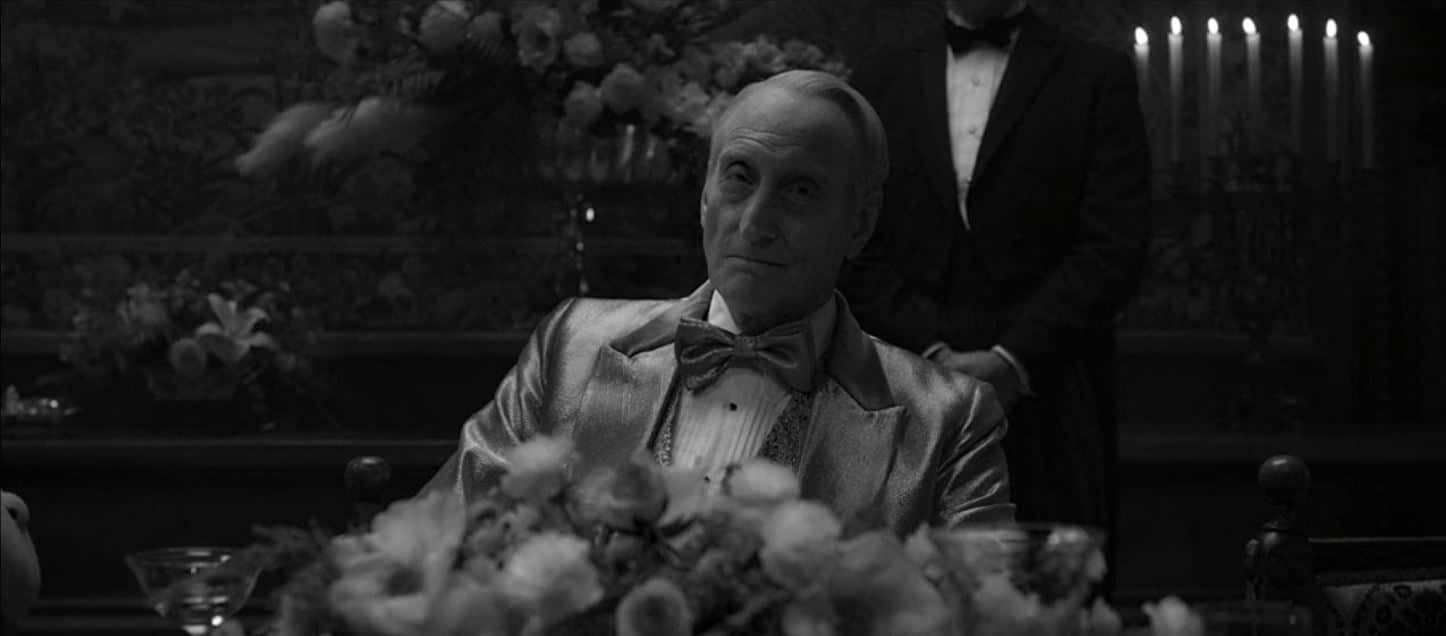 Charles Dance in Mank