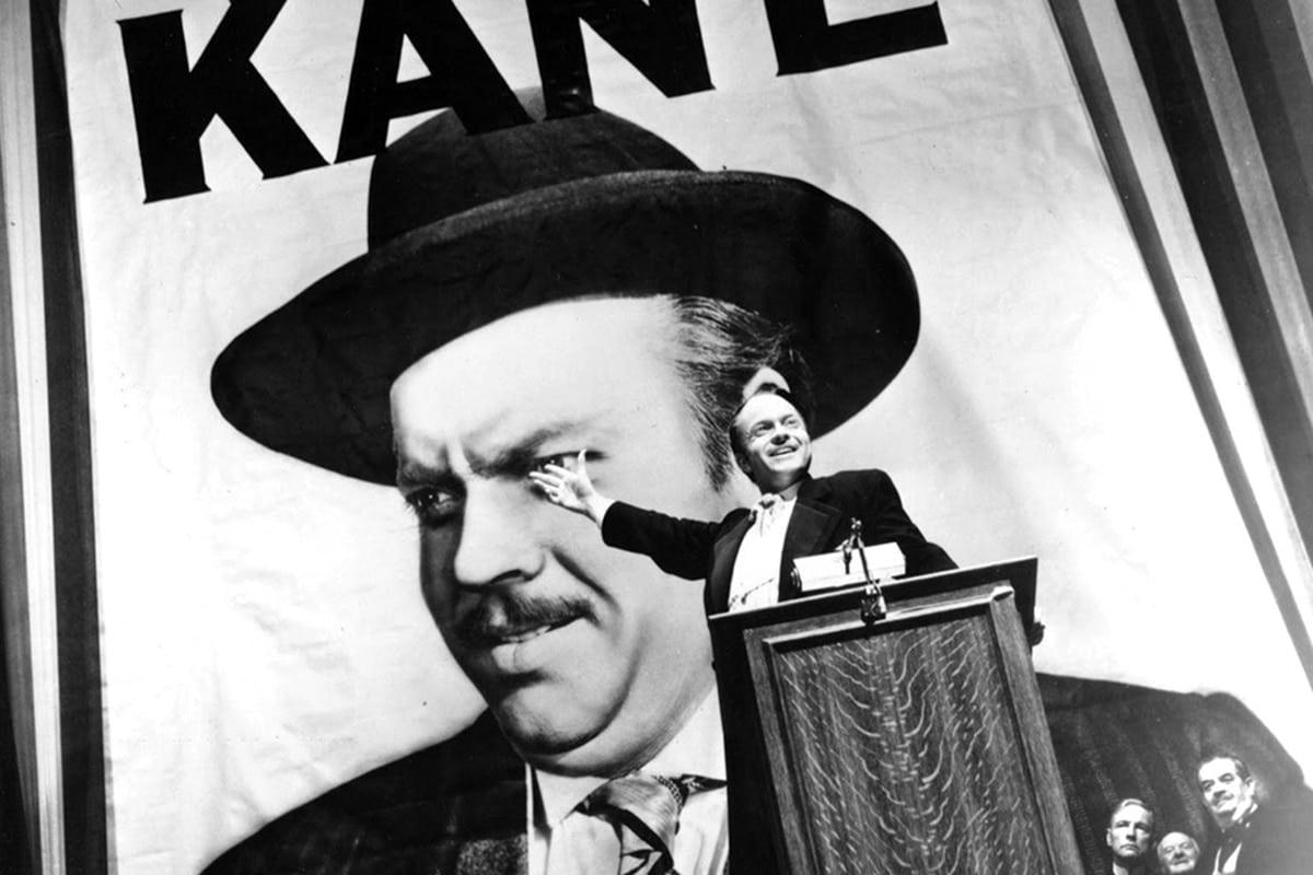 Orson Welles as Citizen Kane