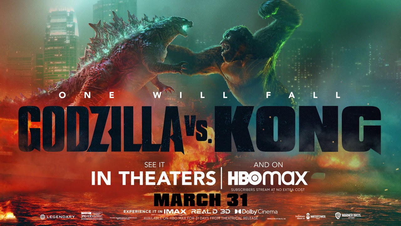 the poster for the film Godzilla vs. Kong