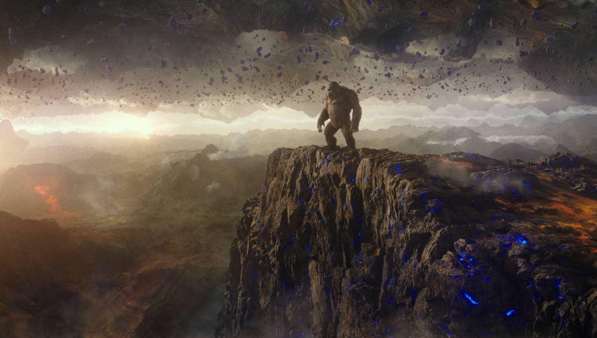 Scene from Godzilla vs Kong