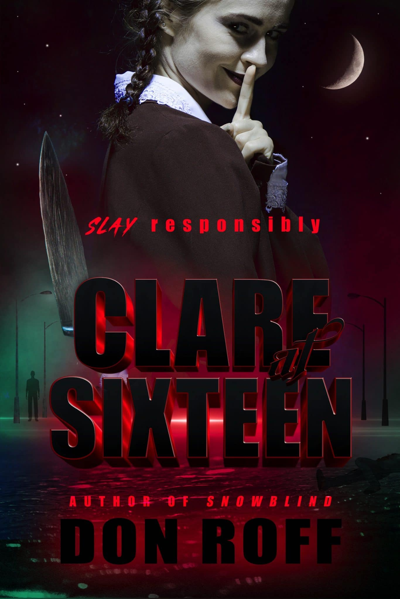the front cover of the book Clare at Sixteen