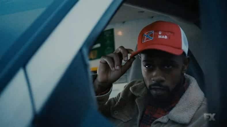 Lakeith Stanfield as Darius in Atlanta TV episode Teddy Perkins