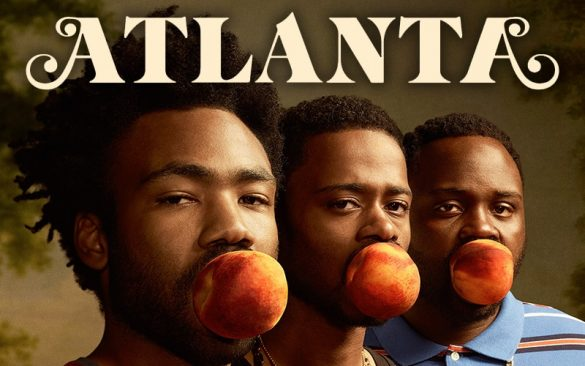 The cast of Atlanta, featuring Donald Glover and Lakeith Stanfield