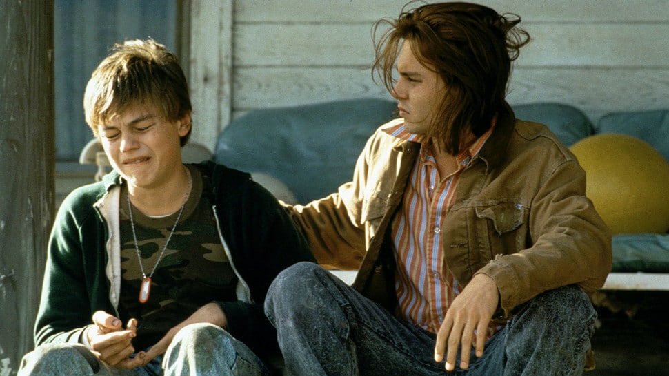 Di Caprio and Depp in What's Eating Gilbert Grape