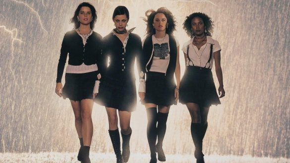 the 4 stars of The Craft film